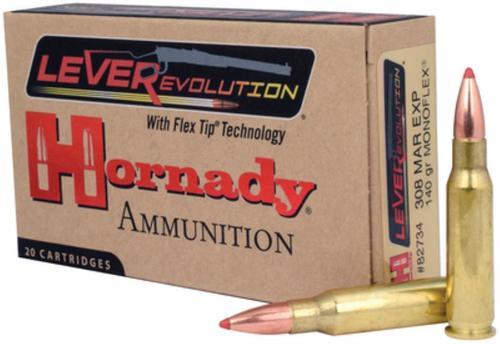 Hornady LEVERevolution .308 Marlin Express 140gr, Monoflex 20rd Box
