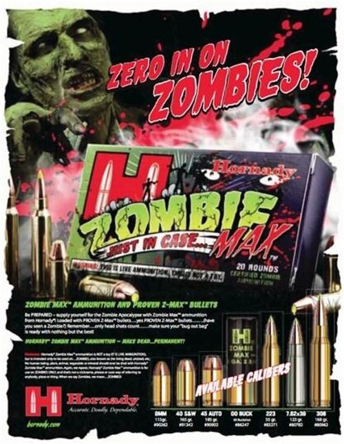 Hornady Zombie Max .40 S&W 165 Grain 20rd/Box