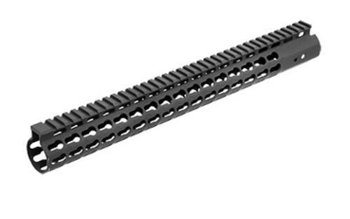 "Leapers, Inc. - UTG Handguard, Fits AR Rifles, 15"" Super Slim, Free Float Keymod, Black"