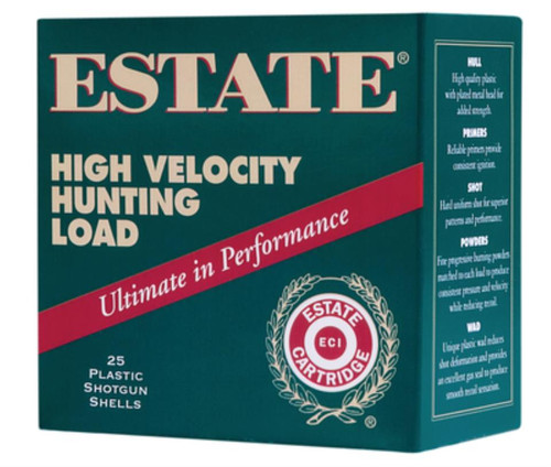 "Estate Cartridge High Velocity Hunting Load 410 Ga, 2-1/2"", 6 Shot, 250rd/Case (10 Boxes of 25rd)"
