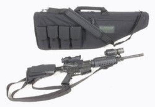 "Blackhawk Rifle Case 37x2.5x11.5"" 1000D Textured Nylon Black"