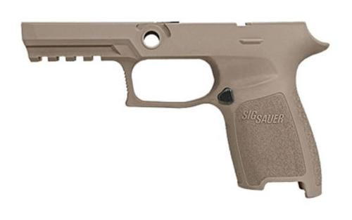 Sig Grip Module Assy P250/P320 9mm/40SW/357 Compact, Medium Grip, Flat Dark Earth