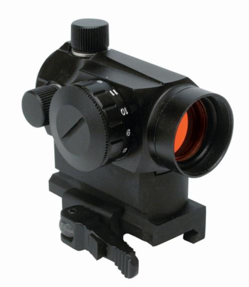 Konus USA SightPro Atomic QR 3.5 MOA Illuminated Red Dot Dual Mount Black