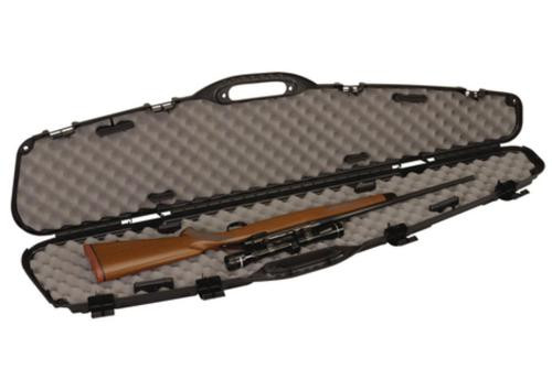 Plano Molding Company Pro-Max Pillarlock Scoped Rifle Case, Lockable And Airline Approved, Black