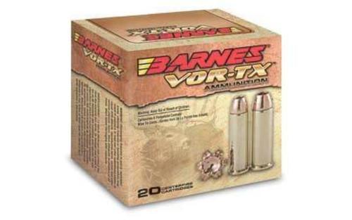 Barnes VOR-TX Handgun Hunting .44 Magnum 225gr, XPB 20rd Box