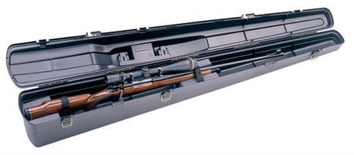 Plano Airglide Rifle/Shotgun Case, Heavy Latches, Plastic, Contoured