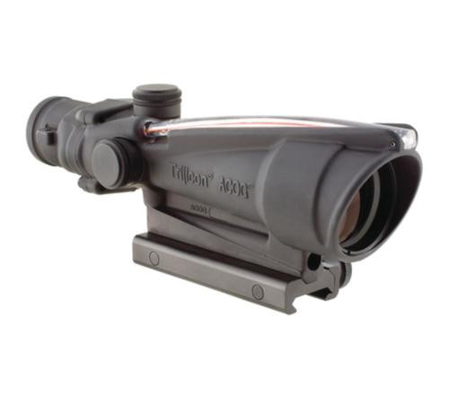 Trijicon ACOG Dual Illumination 3.5x35mm Scope With TA51 Mount Red Horseshoe/Dot .223 Ballistic Reticle Black