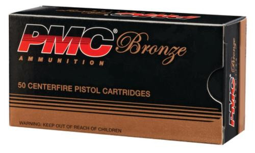 PMC Bronze .380 ACP, 90gr, FMJ, 50rd Box