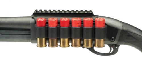 Lyman Shotgun Rail Mount With Sidesaddle fits 12 Ga Remington 870/1100/11-87 Black