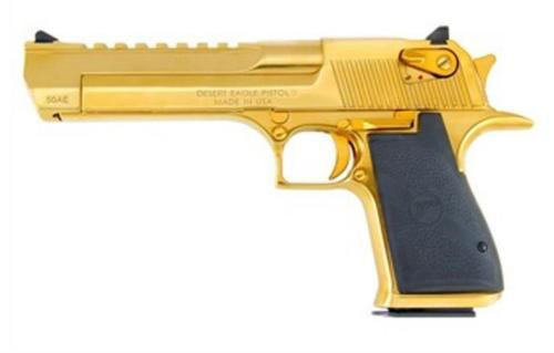 """Magnum Research Desert Eagle, .357 Magnum, 6"""", Titanium Gold"""