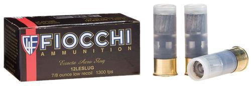 "Fiocchi Aero Rifle Slugs 12 Ga, 2.75"", 7/8oz, Slug Shot, 10rd/Box"
