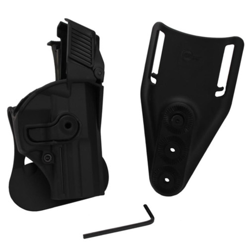Sig RHS Paddle Retention Holster HK USP Compact (9mm/.40S&W) - Level 3 Retention Black