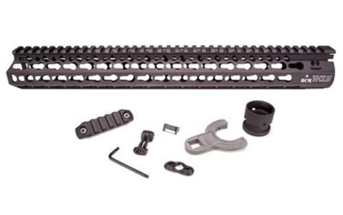"Bravo BCM AR-15 Alpha KeyMod Handguard Aluminum Black 15"""