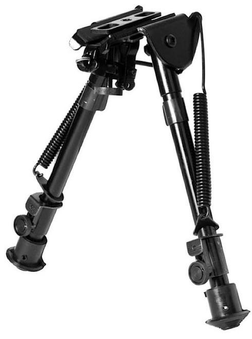 NcSTAR Full Size BiPod 7-11 Black Aluminum