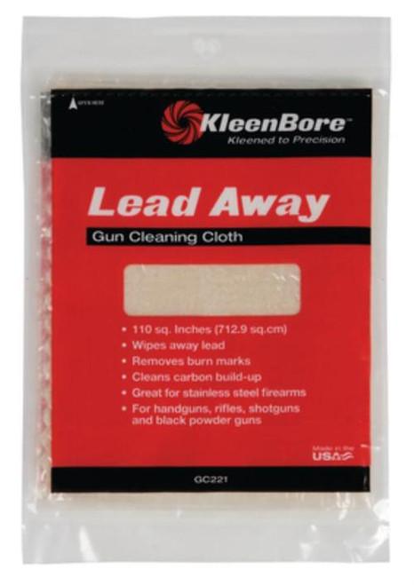 Kleen-Bore Lead Away Gun Cleaning Cloth, 100 Sq Inch