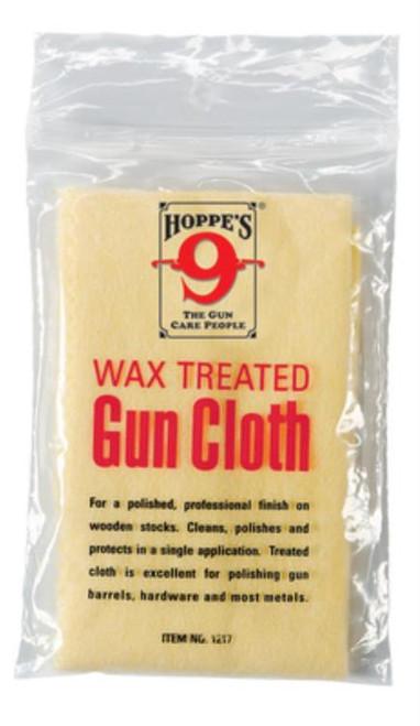 """Hoppe's Wax Treated Gun Cloth 15.25""""x13.5"""""""