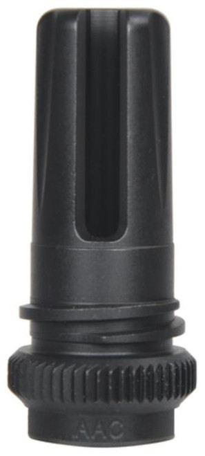AAC Blackout 51 Tooth Flash Hider Ratchet Mount 7.62/6.5Mm/6.8Mm Scarmor Finish 1/2-28 Tpi