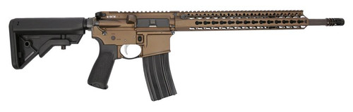 "BCM RECCE-16, .223/5.56, 16"", 6-Position Stock, Bronze"