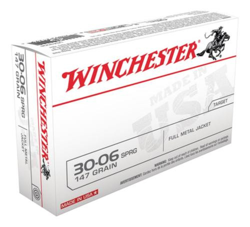 Winchester USA 30-06 Spingfield FMJ 147gr, 20Box