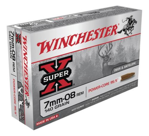 Winchester Super-X Power Core 7mm-08 Remington 140gr, Power Core 95-5