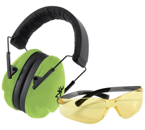 Browning Junior Range Kit Muffs and Glasses