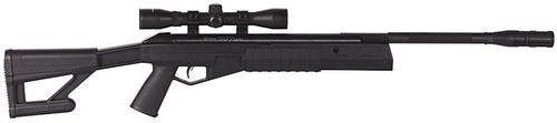 Crosman Tr77 Nps Break Open Air Rifle .177 4X32mm Scope Synthetic Tactical Stock Black