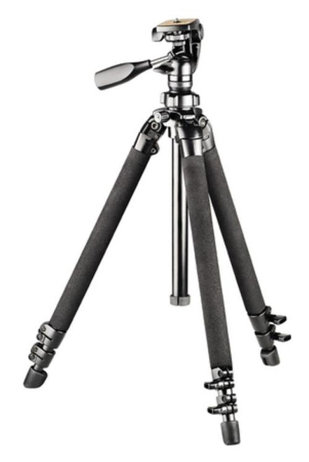 Bushnell Advanced Tripod Max Height is 60 Inches Black