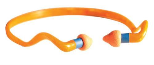 Howard Leight 1 Pair Quiet Band Orange Ear Plugs