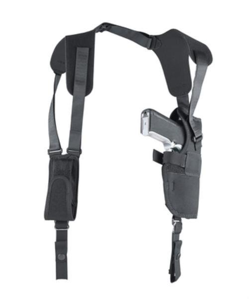 Uncle Mike's Pro-Pak Vertical Shoulder System Size 15, Large Autos, Black Nylon, Right Hand