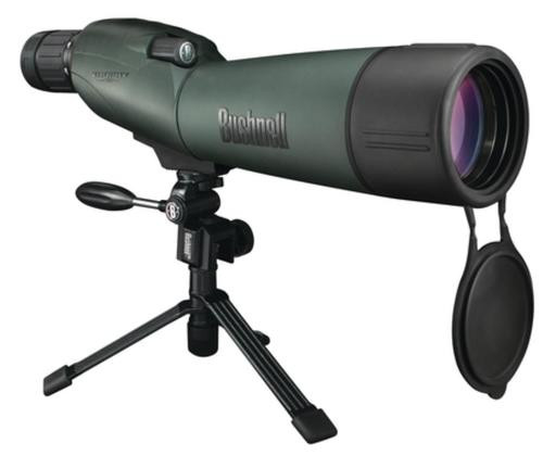 Bushnell Trophy XLT Spotting Scope 20-60x65mm Green/Black With Tripod And Case