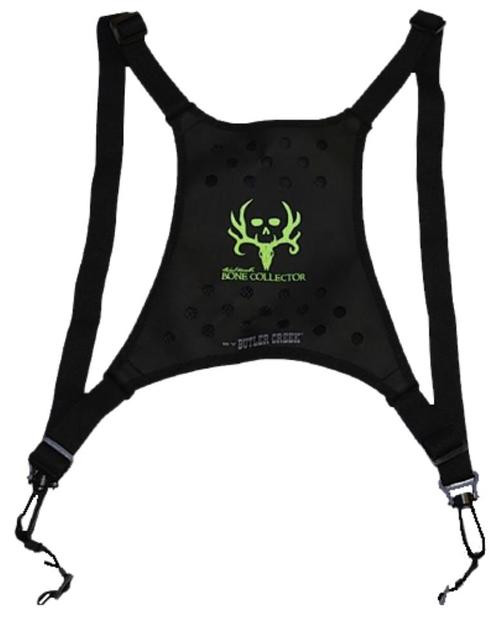 Butler Creek Deluxe Binocular Caddy Harness Black, Bone Collector Logo