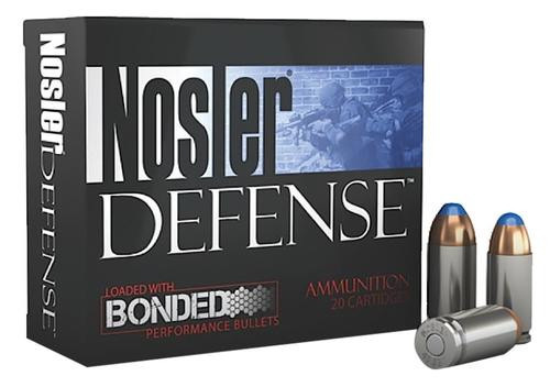 Nosler Performance Bonded 9mm Bonded Tipped 124 gr, 20rd Box