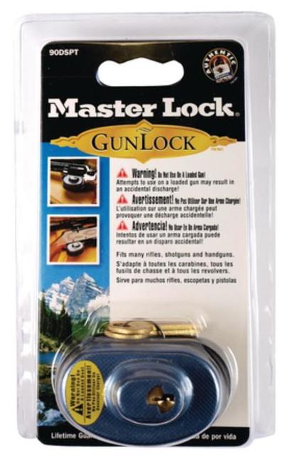 Master Lock Adjustable Trigger Guard Lock Black/Blue
