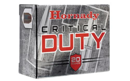 Hornady Critical Duty 10mm, 175 Gr, Flexlock Bullet, 20rd Box