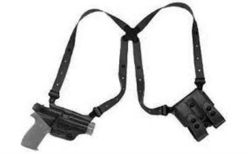 Galco Executive Shoulder Holster Glock 26, Right Hand, Black