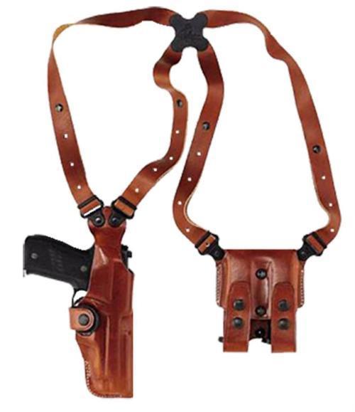 Galco Vertical Shoulder Glock 17/19/22/23/31/32 Ambi Tan