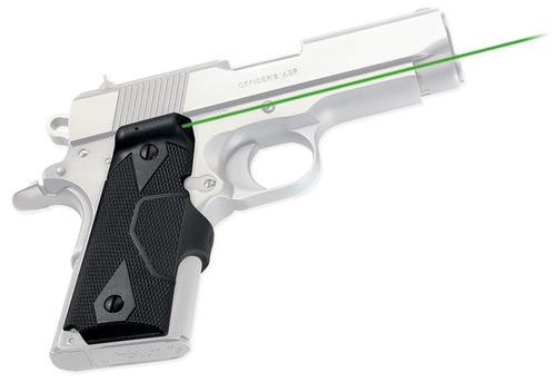 Crimson Trace Lasergrips 1911, Green, Compact