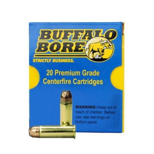 Buffalo Bore .44 Mag, Heavy 300 Gr, JFN Bullet, 20rd Box