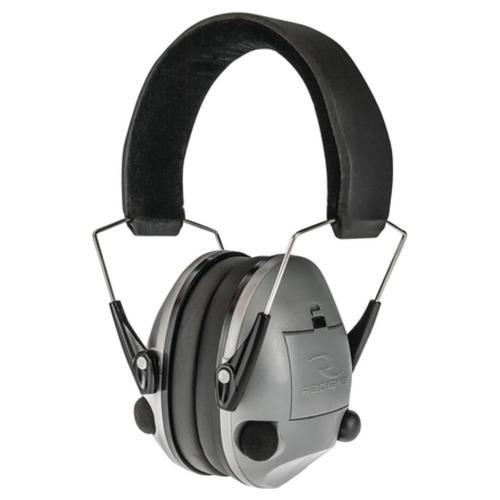 Radians Transverse Electronic Ear Muffs NRR20 Silver