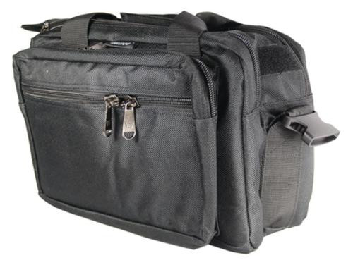 Bulldog Cases Deluxe Extra-Large Range Bag With Pistol Ruger Black
