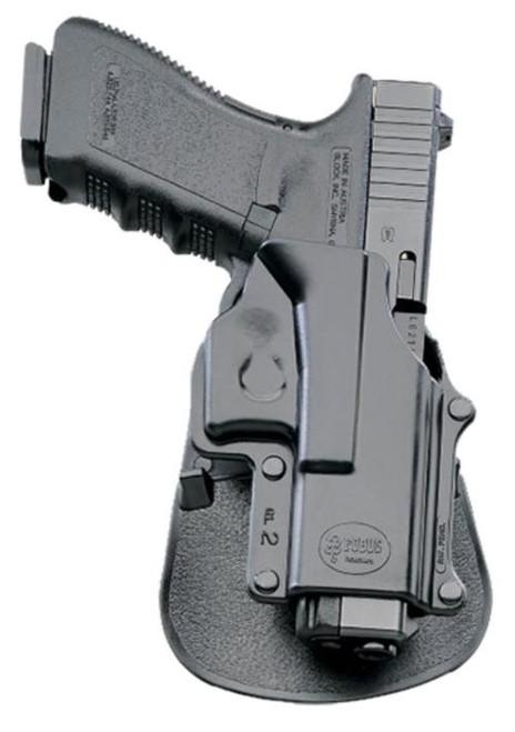 Fobus Standard Evolution Paddle Left-Handed For Glock Black Plastic