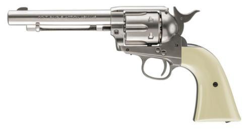 "Umarex Firearms Colt Peacemaker .177 Caliber 5"" Barrel Nickel Finish"