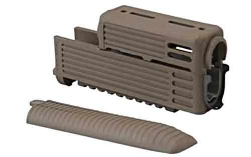 Tapco AK Standard Handguard, Rails and Lower Cover. Flat Dark Earth
