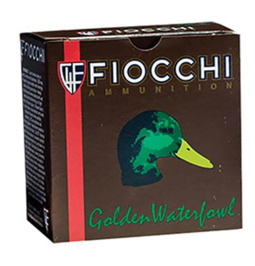 "Fiocchi Steel Waterfowl Shotshells 12 Ga, 3"", 1-1/4oz, 4 Shot, 25rd/Box"