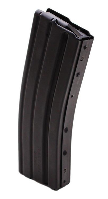 DURAMAG Magazine, 223 Rem/556NATO, 30Rd, Black, Fits AR Rifles, Aluminum, Black Anti-tilt AGF Follower