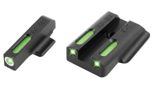Truglo TFX Ruger LC 3 Dot Green Tritium/Fiber Optic Sight