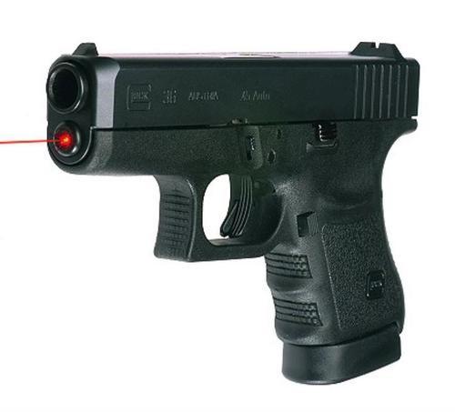 """LaserMax LMS-1181 Glock 36 Red 635nm .75""""@25yd 20yds Range"""