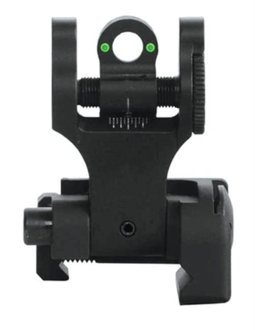 Troy Rear Tritium Folding BattleSight - Black