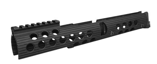 "Troy AK-47 Extended Handguard Bottom Rail Long13.5"" Alum Black"