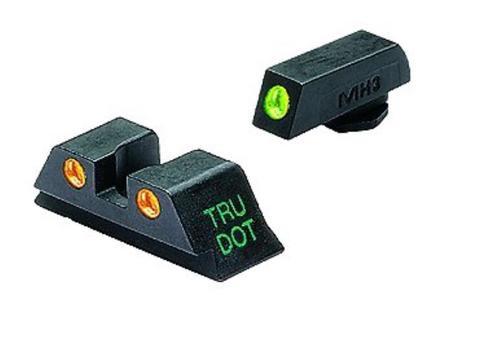 Meprolight Tru-Dot NS For Glock 9/40 17/19/22/23/31-35/37/38 Tritium Grn